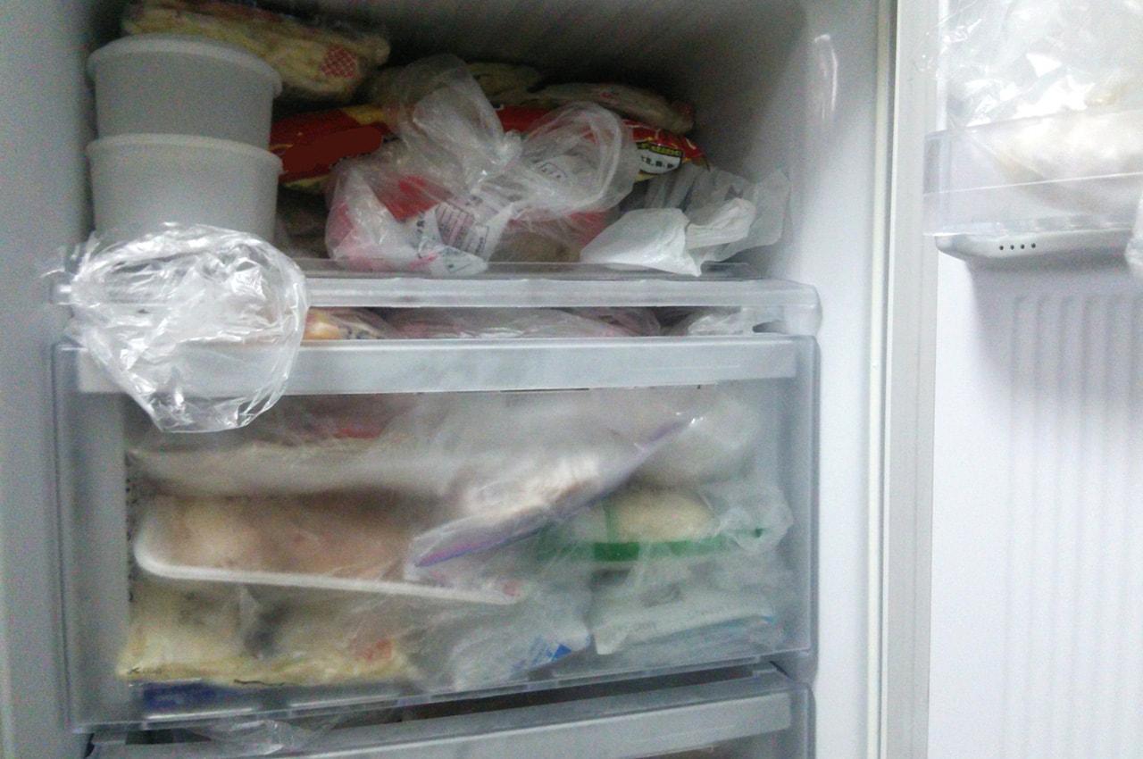 生ゴミは捨てる直前まで冷凍
